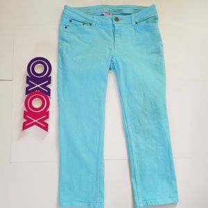 LILLY PULITZER aquamarine cropped jeans (4)